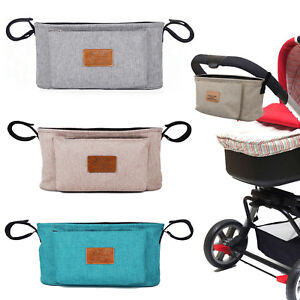 Storage-Bag-Baby-Trolley-Stroller-Cup-Carriage-Pram-Buggy-Organizer-Useful