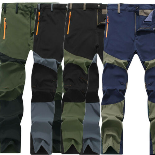 Mens Tactical Waterproof Hiking Trousers Outdoor on foot Combat Sports Pants UK