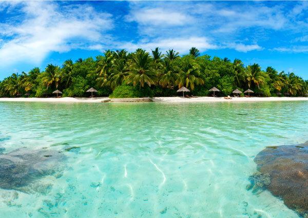 Bord Plage de Mer Plage Bord île relax Murales Photo papier peint photo adhésif 1adb7d