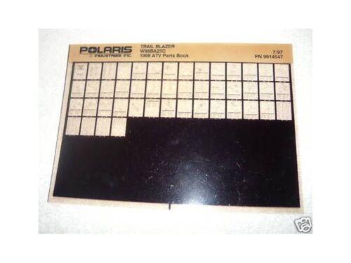 Polaris 1998 Trail Blazer ATV Parts Manual Microfiche
