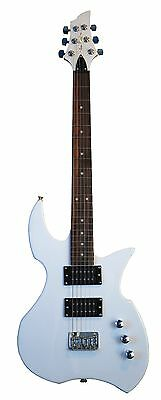 NEW GLEN BURTON PROWLER ELECTRIC GUITAR - IVORY - BLOWOUT!