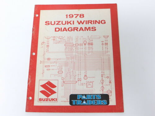 Oem suzuki owner shop repair wiring diagrams manual 1978 jr rm ds Suzuki TS 125 Wiring Diagram 04 RM 250 Lifan 250 Wiring Diagram on ignition wiring diagram suzuki 250 rm