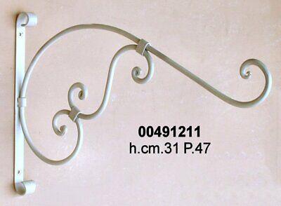 Staffe Per Mensole In Ferro.Reggi Mensola Staffa Supporto In Ferro Battuto Mensole Legno Marmo