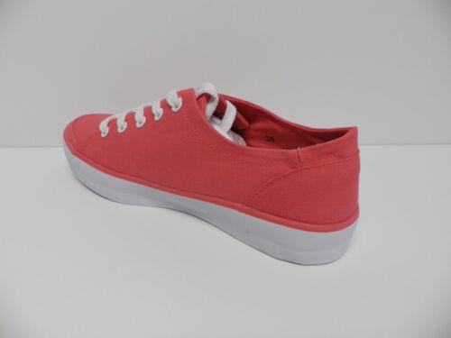 fb8bfe5d61e8 De Leanna Chaussures Neuf Taille Fille 38 Pour Femme Rose Ville Basket  Plate Tbs dIrC7nwxrq