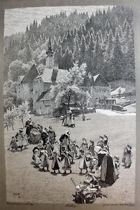 Paul-Hey-Spring-Children-039-s-Home-Boarding-School-School-Resin-Dance-Game-Nun