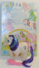 My Little Pony Glory + backcard, brush and ribbon accessories! *Nice Glitter*