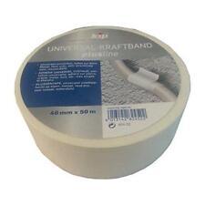 Kip Universal-Kraftband 48mm x 50m weiß Gewebeklebeband Reparaturband Isolierban