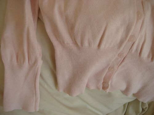 Cardigan Top Pink Mexx Jumper Blend Sweater Italy Cotton Women's Large Made L Iq0CwOR