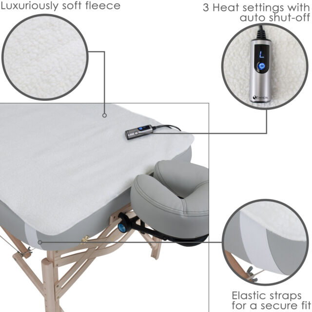 Fantastic Electric Massage Table Warmer Spa Bed Heat Fleece Pad Adjustable Sheet Warming Download Free Architecture Designs Intelgarnamadebymaigaardcom