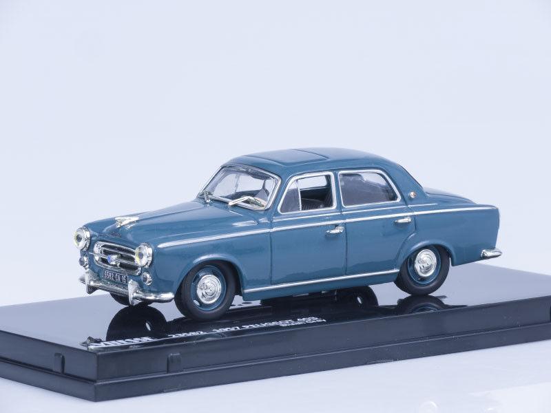1 43 Scale model 1957 Peugeot 403 - blueish Grey