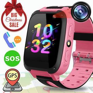 e977fddbcdd Image is loading Kids-Smart-Watch-GPS-Tracker-Kids-Phone-Smartwatch-
