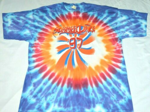 Summer Daze 97 Concert Shirt XL Steppenwolf Fogha… - image 1
