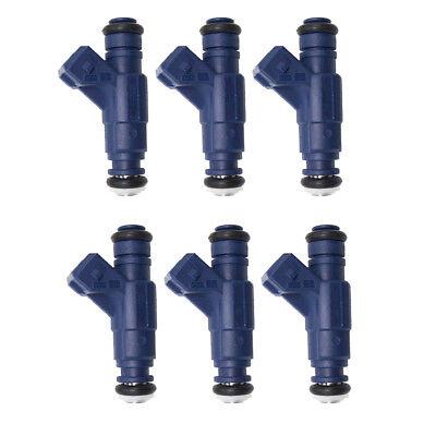 Set of 6 Bosch 0280156109 Fuel Injector 00-05 Mercedes-Benz E320 C320 C240 CLK32