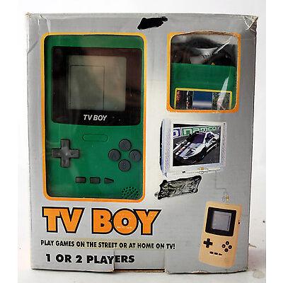 VERY RARE VINTAGE 90'S TV BOY GAME BOY KO CLONE VIDEO GAME CONSOLE NEW MIB !