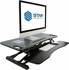 Star Ergonomics SE01M1WB Sit-Stand Desktop Workstation