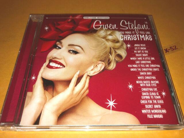 GWEN STEFANI You Make it Feel Like Christmas CD deluxe 17 hits Blake Shelton   eBay