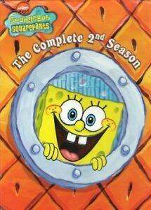 SPONGEBOB SQUAREPANTS COMPLETE SEASON 2 New Sealed 3 DVD Set