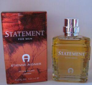 Straßenpreis das Neueste zeitloses Design 100 ml = 15,20 € ) Etienne Aigner STATEMENT After Shave 125 ml   eBay