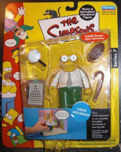 NIB Toy HANS MOLEMAN The Simpsons Interactive Figure Series 7