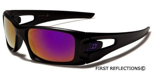 S-M Dxtreme Men Youth Sports Cycling Ski Baseball Square Sunglasses Mirror Lens