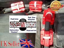4 X Magnético Ahorrador de combustible para cualquier modelo y tipo de vehículo guardar 15-25% de la gasolina y diesel