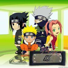 Cafiona Hotsale Naruto Cosplay Accessories Narutpo Ninja Headband Black Color