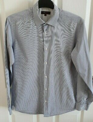 Austin Reed Men S Long Sleeve Formal Shirt Collar Size 14 5 Ebay