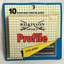 Vintage Wilkinson Sword Profile Razor Blades Sealed Package Made in England