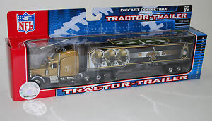 NFL-Football-Semi-Truck-Tractor-Trailer-Hauler-Collectible-New-Orleans-Saints