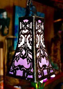 título acerca Iluminación mostrar Bohemia Decoración a mano Detalles del de Colgante Linterna hogar hecho original de Tulipán Lámpara marroquí BdCoeWrx