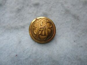 Civil War GAR Button Union Veteran Grand Army of the Republic