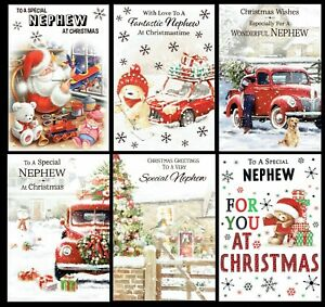NEPHEW ~ Quality CHRISTMAS Card ~ Great CHOICE of DESIGNS