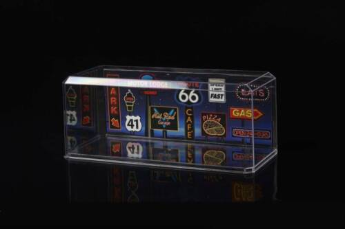 1//18 Display Case BACKROUND ONLY//Route 66  PLEASE READ,READ!!!!!!!!