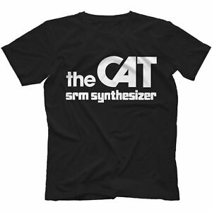 The-Cat-SRM-Synthesiser-T-Shirt-100-Cotton-Retro-Analog-Arp-Odyssey