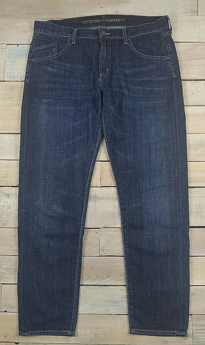 COH CITIZENS OF HUMANITY Lennox Loose Fit in Cassidy bluee Jeans Size 30  189 USA