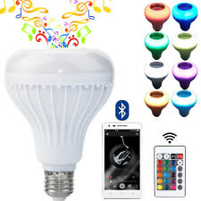 Wireless Bluetooth Speaker Smart LED Lamp Bulb Music Player with Remote Control