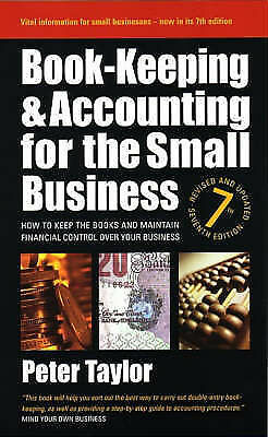 """1 of 1 - """"NEW"""" Book-Keeping & Accounting for the Small Business: 7th edition: How to Keep"""