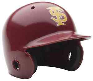 FLORIDA-STATE-SEMINOLES-NCAA-Schutt-MINI-Baseball-Batter-039-s-Helmet-FSU