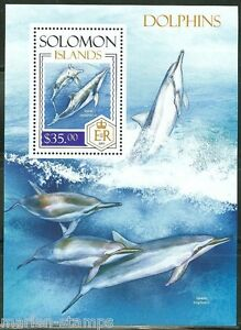 SOLOMON-ISLANDS-2013-DOLPHINS-SOUVENIR-SHEET-MINT-NH