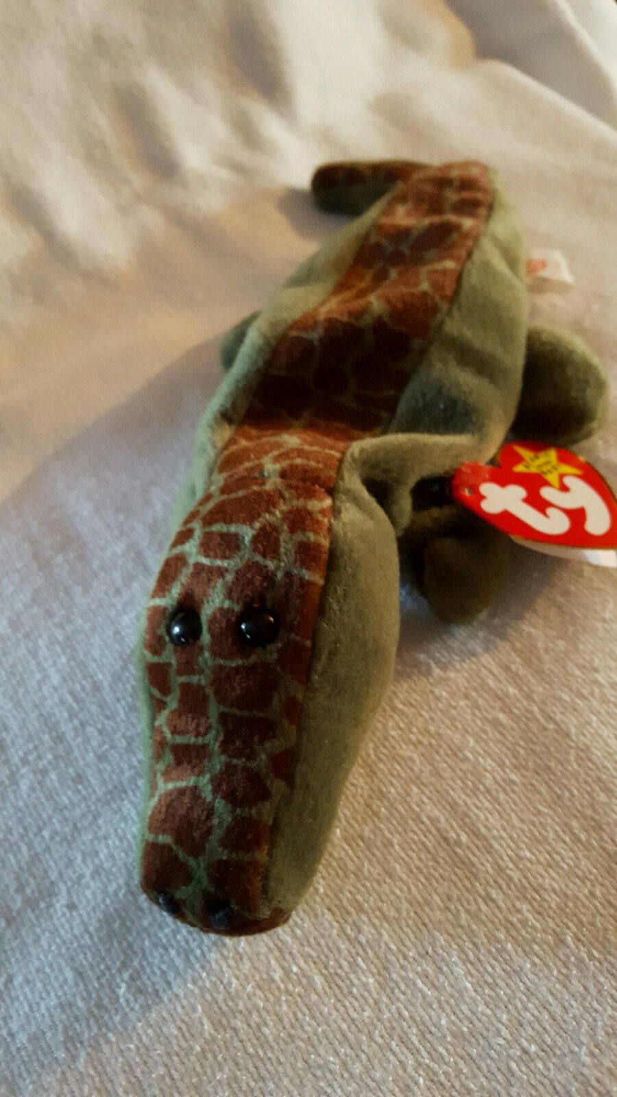 Vintage Mint Condition Retired Ally style Ty Beanie Baby w  Rare Tag Error