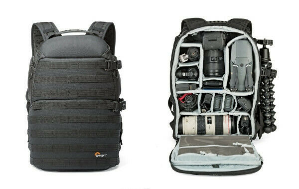 Lowepro Pro Tactic 450 AW Laptop, 2 camera Drone Backpack [Black] Slightly used
