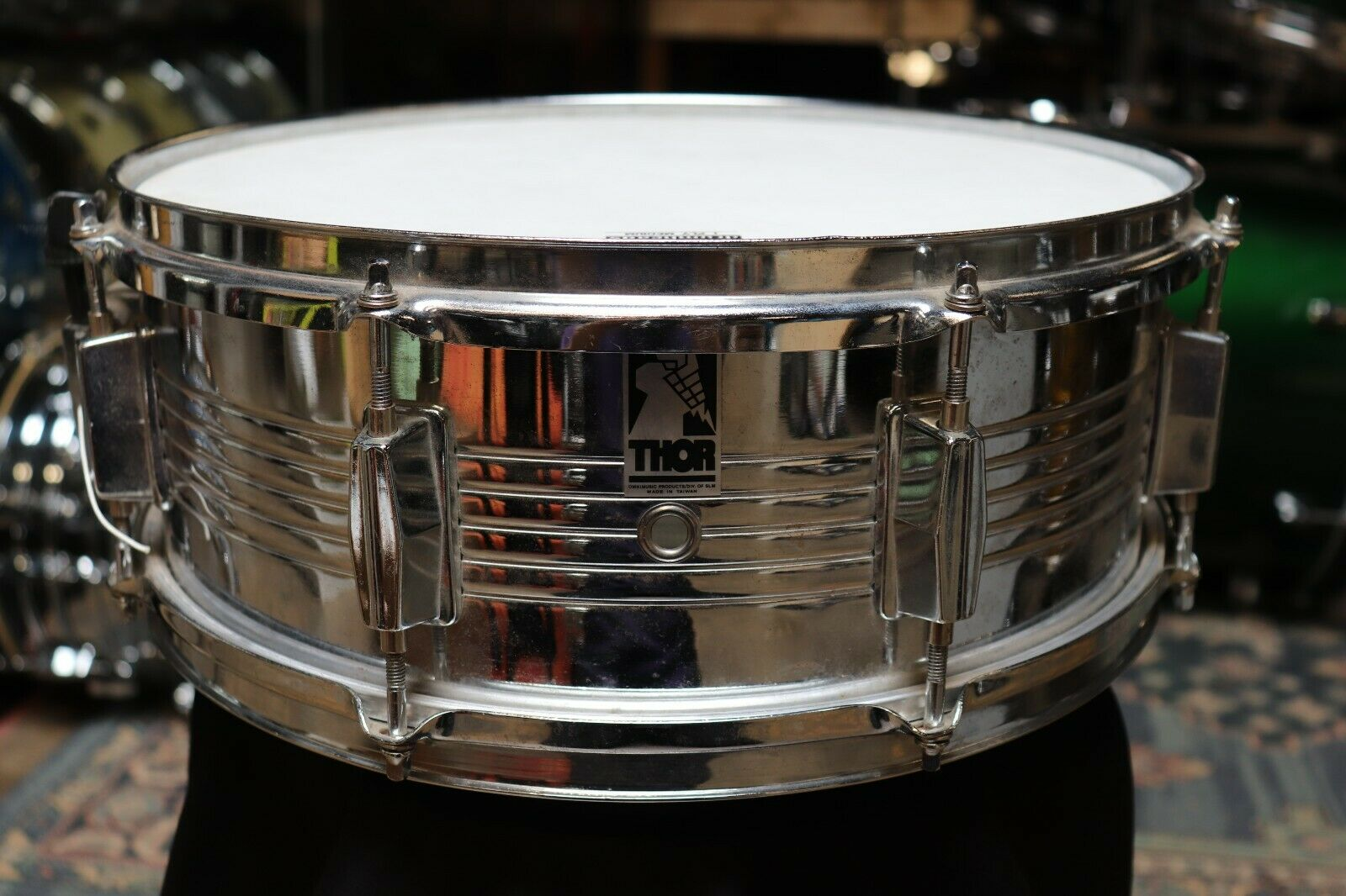 Thor 5.5x14 Steel Snare Drum