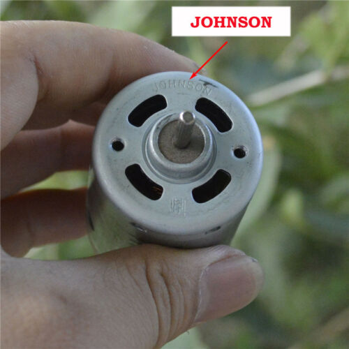 JOHNSON RS-540 DC 6V~12V 20000RPM High Speed Motor Electric Drill Vacuum Cleaner
