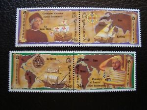 Gibraltar-Briefmarke-Yvert-Tellier-N-647-A-650-N-MNH-COL3