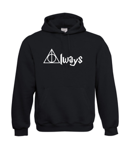 Always-Harry-Potter-I-Patter-I-Fun-I-Funny-to-5XL-I-Men-039-s-Hoodie