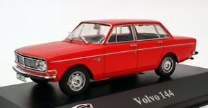 Atlas-Editions-coche-modelo-escala-1-43-8-506-006-Volvo-144-Rojo