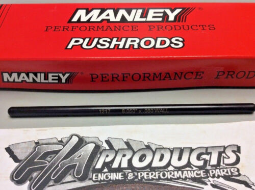 "Manley 25721-1 Swedged End 8.050/"" Long .080/"" Wall 5//16/"" 4130 SINGLE Push Rods"