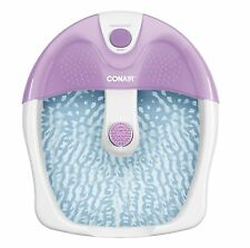 Conair FB3 Foot Bath Spa Tub Acupressure Messager Heat Vibrating Portable new