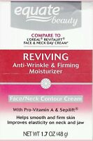 2x Equate Advanced Reviving Anti Wrinkle And Firming Moisturizer Face And Neck