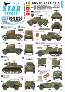Star-Decals-1-35-Sud-Est-Asia-1950s-35-C1250